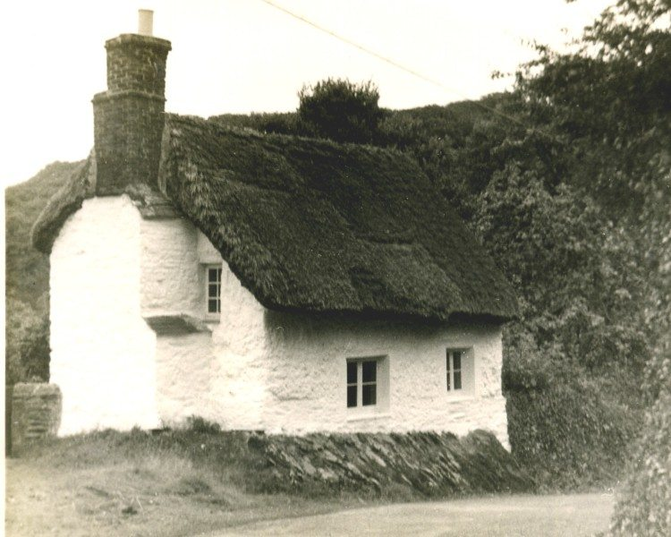 Rock Cottage in 1955.
